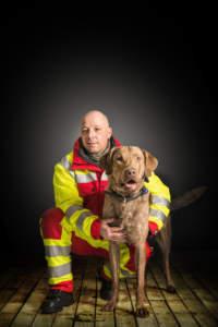 Rettungshunde Bergisches Land - Andre und Wilson