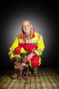 Rettungshunde Bergisches Land - Sandra und Klaus
